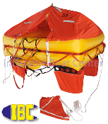 4 Man Offshore Life Raft Valise Type ISO 9650