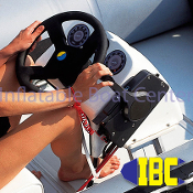 white mini steering console kit