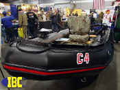 Special Boats Division C4 Sportsmen's w Nissan40Hp Black