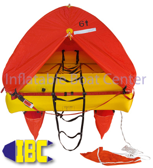6 Man Coastal Life Raft Valise Type